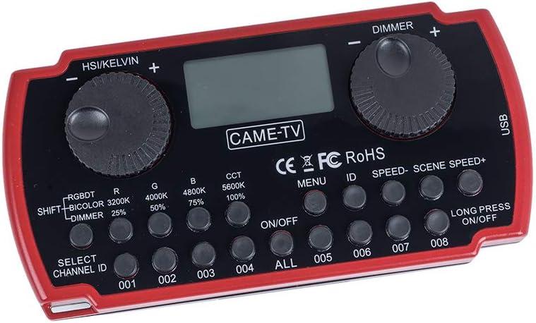 CAME-TV LED Commander Wireless Remote Controller for Boltzen Tube LED Video Lighting RGB Panel Lighting,Q-55 Fresnel Light