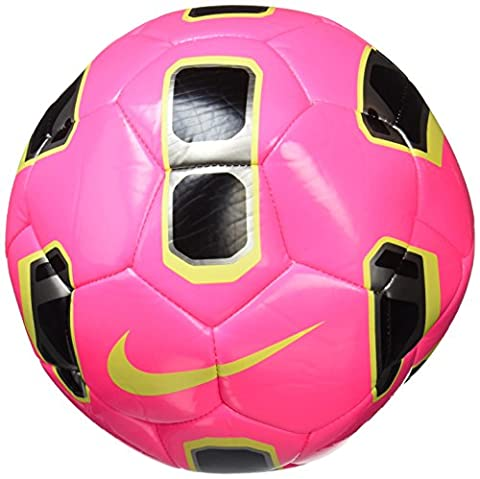 Nike Tracer Training Soccer Ball Hyper Pink/Black/Volt Size Size Three Ball