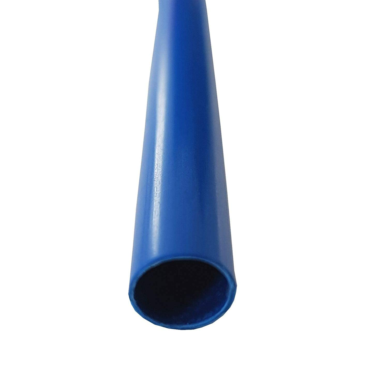 2:1 netproshop Schrumpfschlauch 1,6mm Halogenfrei und Extrem Flammwidrig Farbe:Schwarz 1,2 Meter