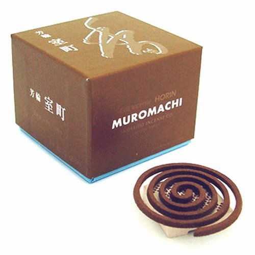 Shoyeido's City of Culture Incense, Set of 10 Coils - Muro-machi