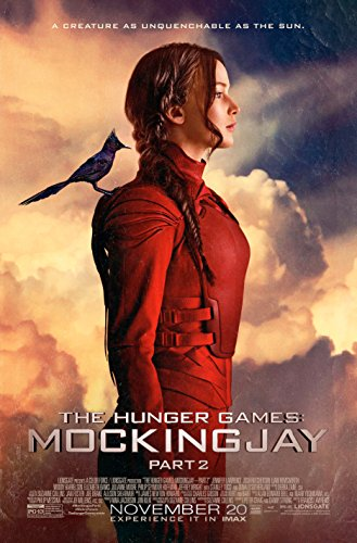 KATNISS - The Hunger Games: MockingJay Part 2 (2015) Movie Poster, 24 x 36 Inches - Theater Quality (THICK 8 Mil) - Jennifer Lawrence, Josh Hutcherson, Liam Hemsworth by WMG
