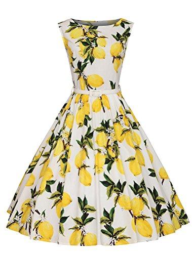 MatchLife - Bata - para mujer Yellow Floral 1 46