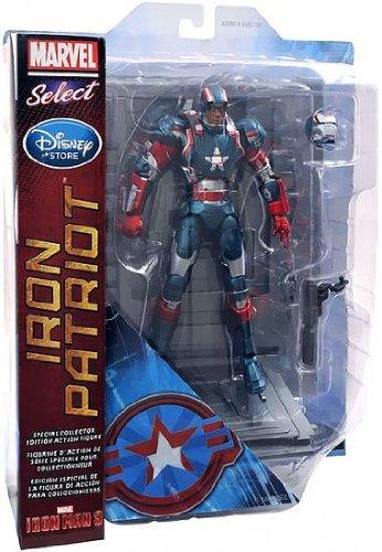Iron Man 3 Marvel Select Exclusive Action Figure Iron Patriot