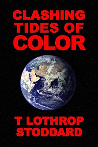 Book cover from Clashing Tides of Color by T. Lothrop Stoddard