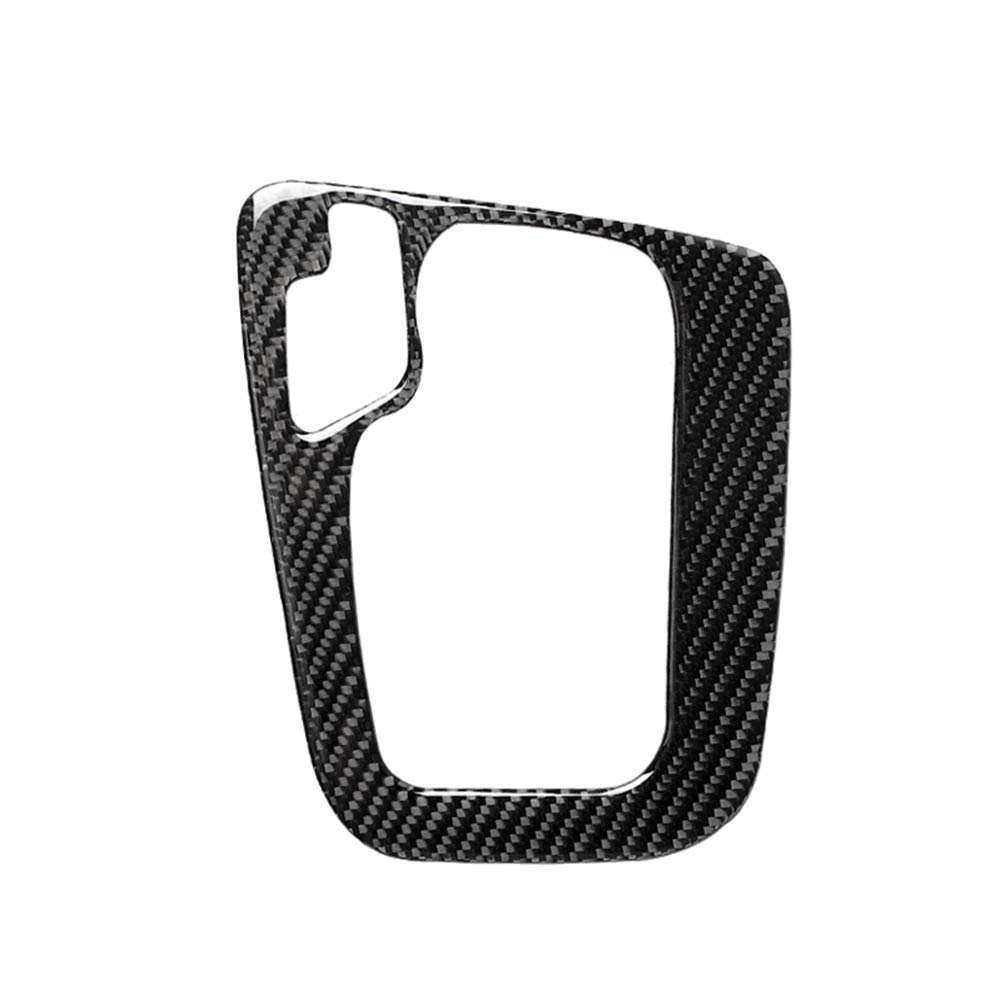 Voupuoda Tablero de Instrumentos de Fibra de Carbono Interior Consola Panel de Cambio de Marchas Adhesivo Marco Pegatina Cubierta Decorativa para BMW Serie 3 E46 1998-2005