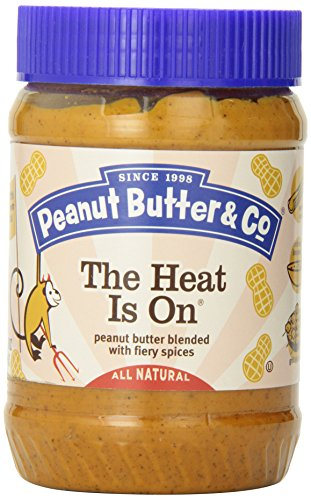 Peanut Butter & Co - The Heat is On - 454g (Peanut Butter And Company compare prices)