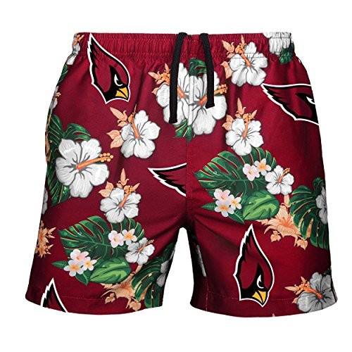 NFL Mens Team Logo Floral Hawaiin Swim Suit Trunks – DiZiSports Store