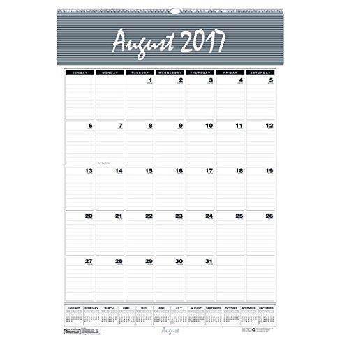 House of Doolittle HOD354 Bar Harbor Academic Wall Calendar, 31.25