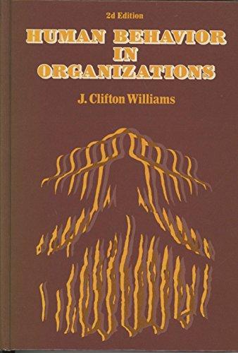 Human Behavior in Organization