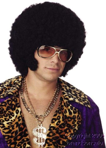 [Afro Chops Wig Costume Accessory] (Chop Chop Halloween Costumes)