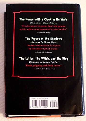 The Best of John Bellairs: The House with a Clock in Its Walls; The Figure in the Shadows; The Letter, the Witch, and the Ring by Barnes & Noble Books (Image #1)