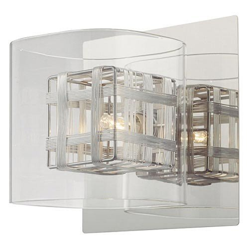 George Kovacs P800-077, Jewel Box, 1 Light Bath Fixture, ()