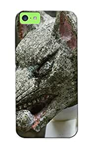 New Style Case Cover MPFmYii6755KYrHh Stone Guardian Dog Compatible With Iphone 5c Protection Case