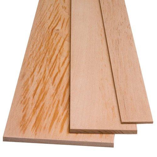 - Spanish Cedar by the Piece, 1/8'' x 1-1/2'' x 48'' by Rockler