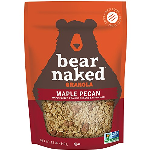 Bear Naked Granola Pouches, Maple-Licious Pecan, 12 Ounce (Pack of (Maple Pecan Cereal)