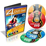 Learn How to Play Guitar - Teach Yourself Guitar - 4 DVD Set