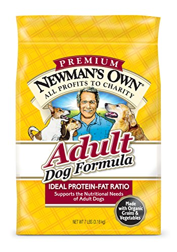 Newman'S Own Organics Adult Dog Dry Food Formula, 4-Pound Bags (Pack Of 3)