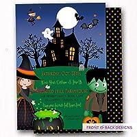 amazon com halloween invitations stationery handmade products