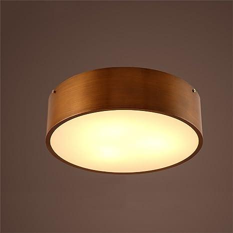 DELLT- Moderno Lámpara de Techo Minimalista Salón Dormitorio ...