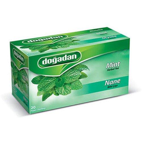 Dogadan Premium Mint Herbal Tea Bags ( 1 Box / 20 teabags)