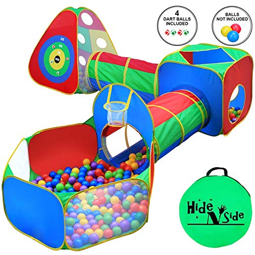 Ball Pit with Tunnels is a good indoor energy burning toy for kids