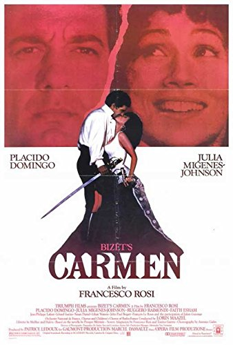 Bizet's Carmen Poster Movie