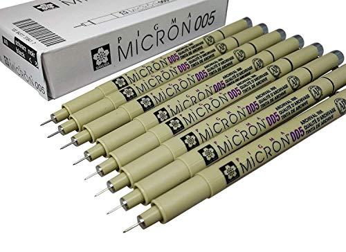 Sakura Pigma Micron Pen - Sakura Pigma Micron pen 005 Black