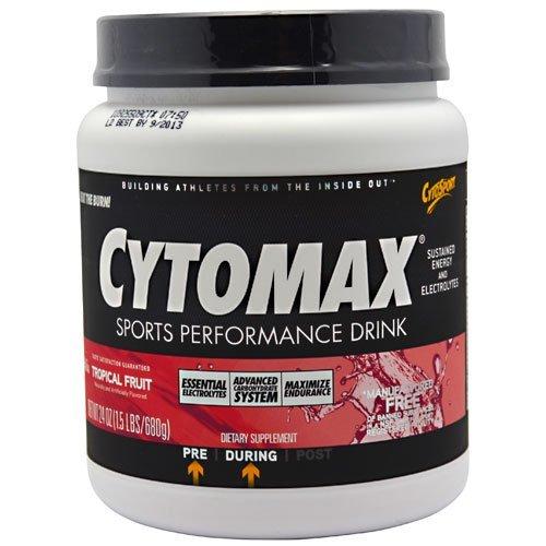 Cytomax Drink Fruit - CytoSport Cytomax Sport Energy Drink, Tropical Fruit , 24 ozs by CytoSport Cytomax