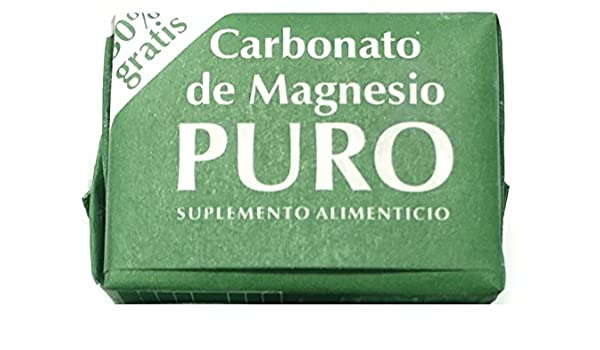 Amazon.com: Magnesium Carbonate 7grs - Carbonato de Magnesio Puro (Pack of 2): Health & Personal Care