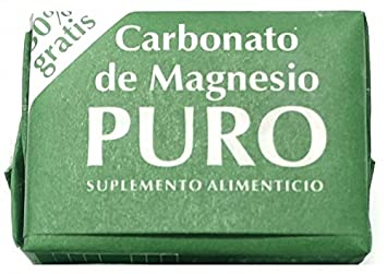 Magnesium Carbonate 7grs - Carbonato de Magnesio Puro (Pack of 12)