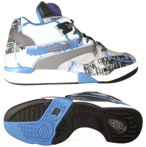 Reebok Men's The Basquiat Court Victory Pump Sneaker (J99568), 12 (Mens Reebok Pump Size 12)