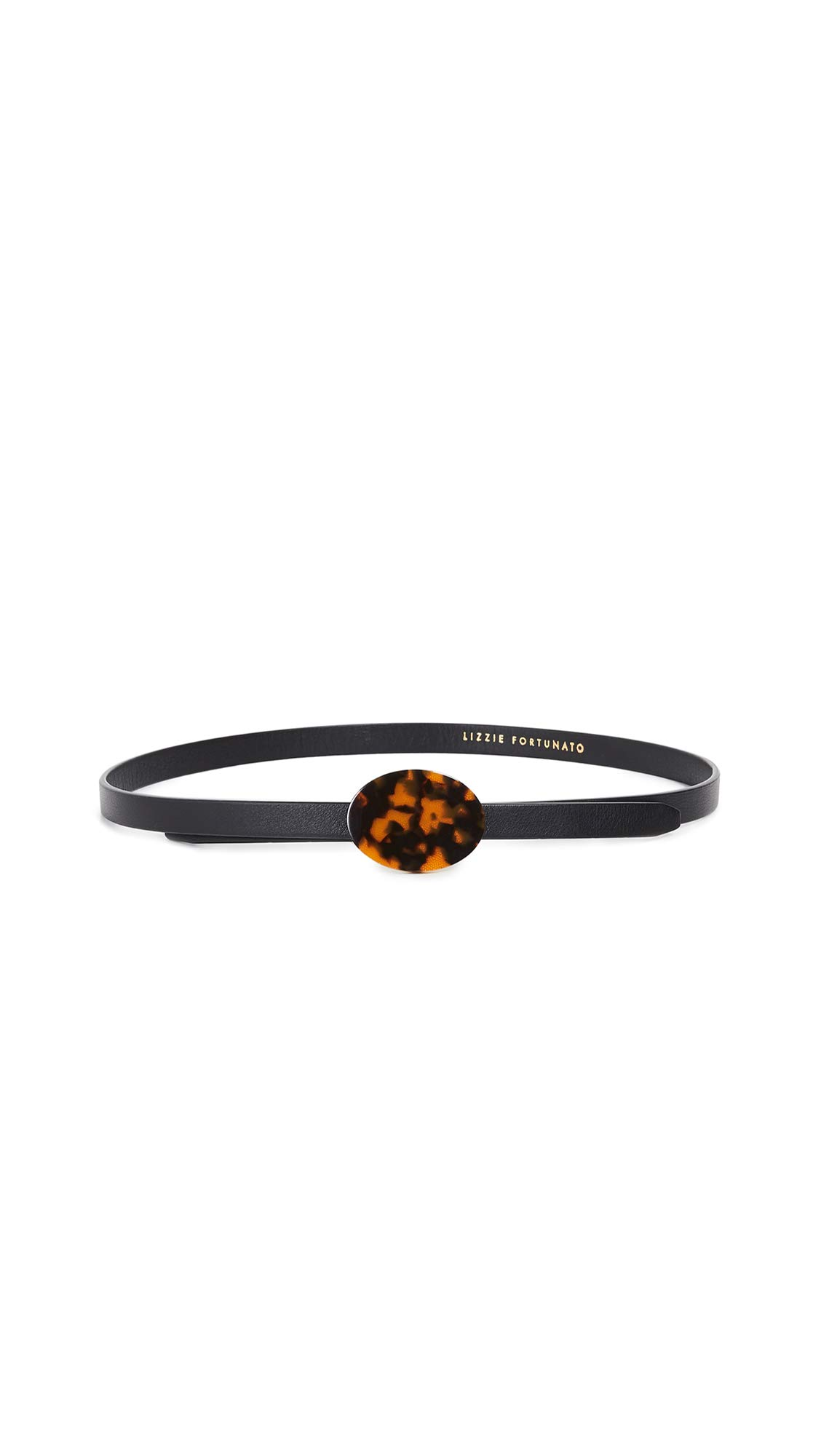 Lizzie Fortunato Women's Orbit Belt, Black/Tortoise, One Size