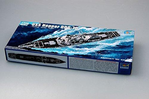 Trumpeter 1/350 Scale USS Hopper DDG70 Arleigh Burke Class Flight Ila Guided Missile Destroyer