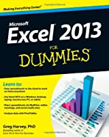 Excel 2013 For Dummies Front Cover
