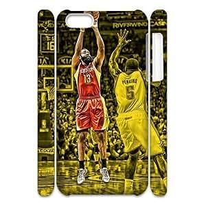Newest Diy James Harden Apple Iphone 5C 3D Cover Case UN871436
