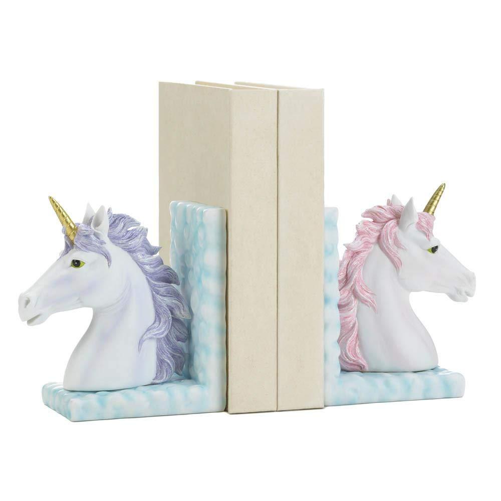Dragon Crest 10018597 Magical Unicorn Bookends, Multicolor by Dragon Crest