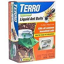 Terro 1806 Outdoor Liquid Ant Baits 1 fl oz - 6 count FamilyValue 4Pack-EkV-Terro