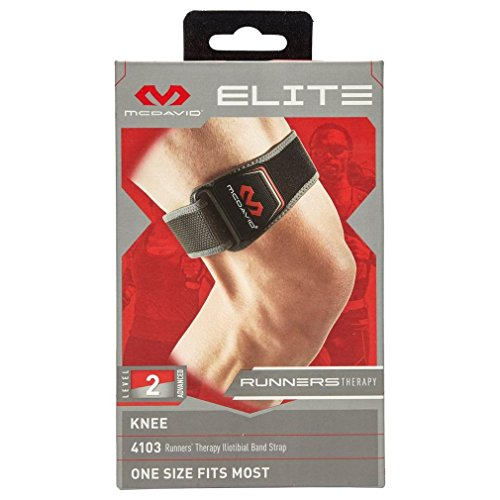 McDavid Runners Therapy Iliotibial Band, Black, One Size by McDavid