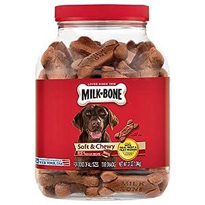 Milk-Bone Soft & Chewy Beef & Filet Mignon Recipe Dog Snacks (37 oz.) Pack 2