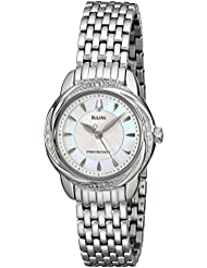 Bulova Womens 96R153 Precisionist Brightwater Swirl pattern Watch