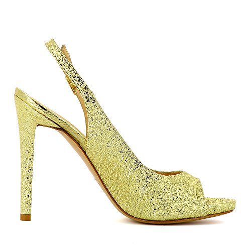 Evita Shoes Flavia - Zapatos de vestir de Piel para mujer dorado