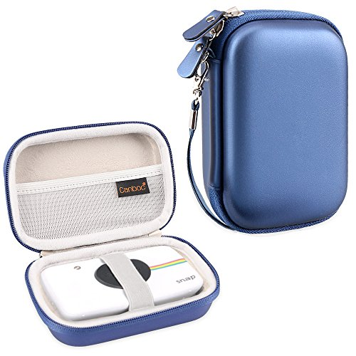 Canboc Shockproof Carrying Case Storage Travel Bag for Polaroid Snap & Polaroid Snap Touch Instant Print Digital Camera, Printer Protective Pouch Box, Blue