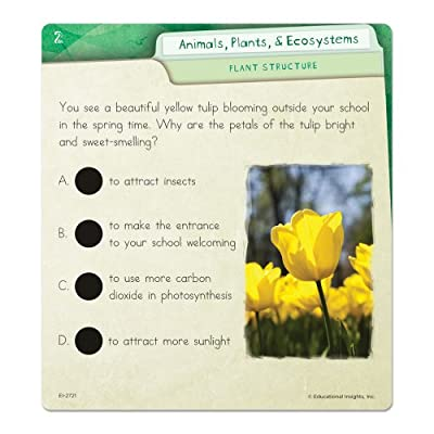 Educational Insights Hot Dots Science Set- Animals, Plants and Ecosystems: Office Products