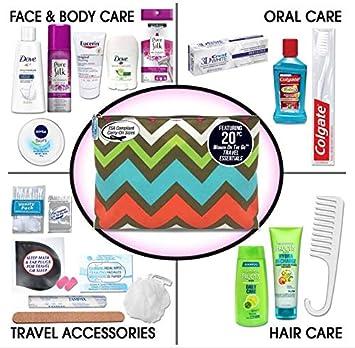 e6e63665a5 Amazon.com   Convenience Kits Women s Premium 20-Piece Necessities ...