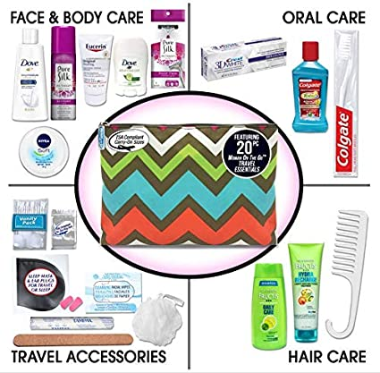Convenience Kits Premium Travel Necessities Kit, Women 079718011103