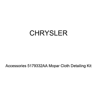 Chrysler Genuine Accessories 5179332AA Mopar Cloth Detailing Kit: Automotive