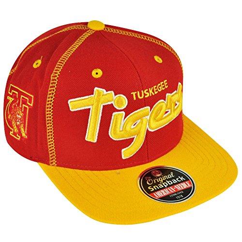 Tuskegee University Golden Tigers Snapback Traxside Baseball Cap (HBCU)