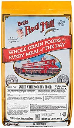 Flours & Meals: Bob's Red Mill Gluten Free Sorghum Flour