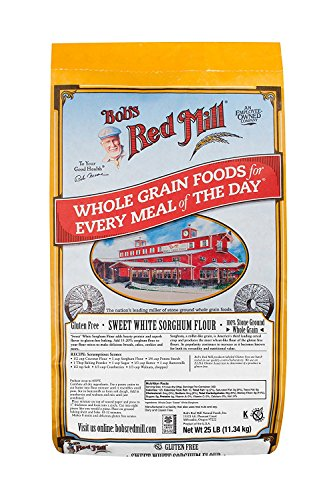 Bob's Red Mill Bulk Sweet Sorghum Flour, Gluten Free, 25 Pound by Bob's Red Mill (Image #1)