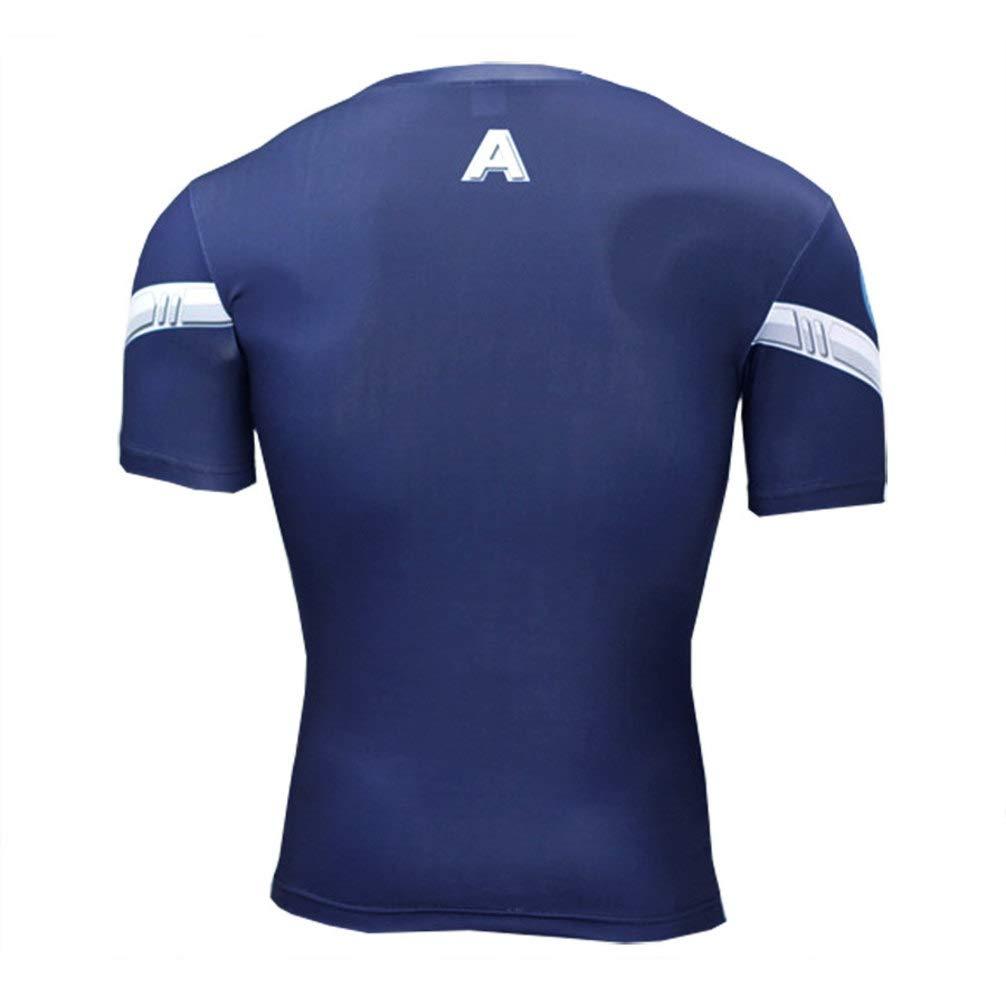 Mens Dri-Fit Thanos Compression Tank Top Sleeveless Fitness Shirt
